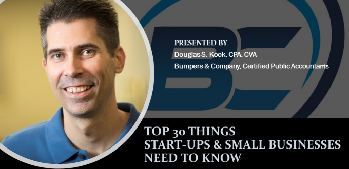 TOP 30 THINGS START-UPS AND SMALL BUSINESSES NEED TO KNOW