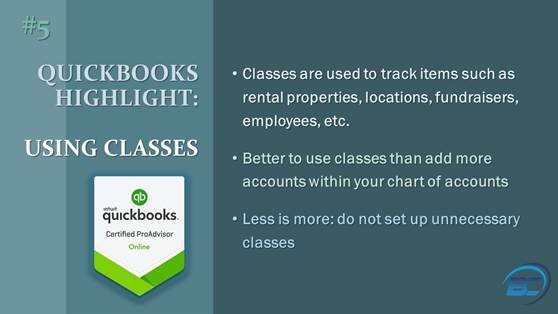 QuickBooks Classes